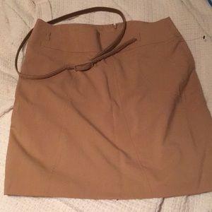 Worthington Petite Pencil Skirt with Belt